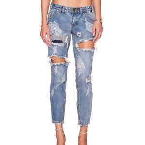 One Teaspoon Dusty FreeBird Jeans